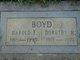 Dorothy M Boyd