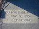 Profile photo:  Carson Earl Cook