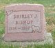 Shirley J Bishop