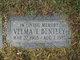 Velma I. Bentley