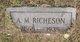 Profile photo:  A. M. Richeson
