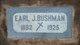 Profile photo:  Earl Joseph Bushman