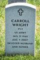 Profile photo:  Carroll Wright
