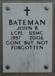 Profile photo:  John Benjamin Bateman