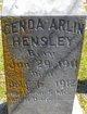 Genoa Arlin Hensley