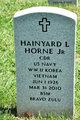 Profile photo:  Hainyard Liston Horne Jr.