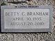 Profile photo:  Betty <I>Cooper</I> Branham