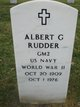 Profile photo:  Albert G Rudder