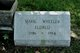 Profile photo:  Marie <I>Wheeler</I> Eldred