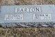 Profile photo:  Edna May <I>Wilson</I> Barton
