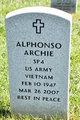 Profile photo:  Alphonso Archie