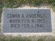 Edwin Albin Anderson