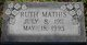 Ruth Mathis