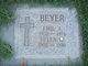 Profile photo: Mrs Helen M. <I>Miller</I> Beyer