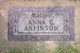 Anna Goline <I>Hanson</I> Anfinson
