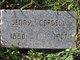 """Profile photo:  Mary Virginia """"Jenny"""" <I>Thomas</I> Cordell"""