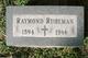 Raymond Stanley Ruhlman