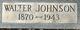 Walter Johnson Allen