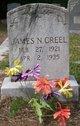 """James N. """"Buck"""" Creel"""