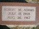 Profile photo:  Robert M Adams