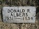Donald Richard Albers