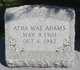 Profile photo:  Atha Mae <I>Moorehead</I> Adams