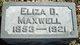 Eliza D. <I>Yankee</I> Maxwell