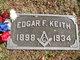 Profile photo:  Edgar Franke Keith