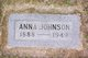 Anna <I>Kloster</I> Johnson
