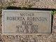 Profile photo:  Roberta <I>Robinson</I> Reed