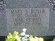 Mary S. <I>Trumbo</I> Boyer