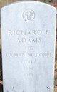 PFC Richard Eugene Adams
