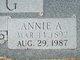 Annie A. King