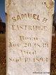 Profile photo:  Samuel H. Eastridge