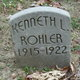 Kenneth Lorenze Rohler