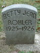 Betty Jane Rohler