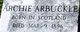 Archie Arbuckle