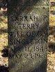 Sarrah P. <I>Terry</I> Singleton