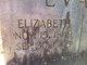 Elizabeth <I>Baker</I> Evans