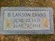 D. Lanson Evans