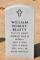 Profile photo:  William Robert Beatty