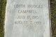 Edith <I>Hodges</I> Campbell