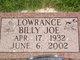 Billy Joe Lowrance