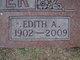 Edith A <I>Wooldridge</I> Carter