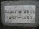 "Danny Wilbur ""Butchie"" White"