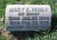 Mary <I>Bernet</I> Heinly