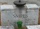 Agnes <I>Miller</I> Snipes