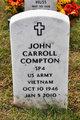 Profile photo:  John Carroll Compton