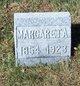 Margaret A. <I>Peterson</I> Davis