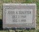 John Albert Stauffer